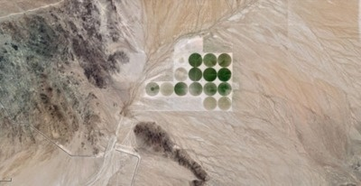 DryRoatedEdamame #agriculture #from #a #arizona #landscape #plane #google #view #maps