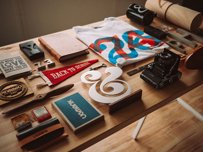 Hipster Office Stock Photos