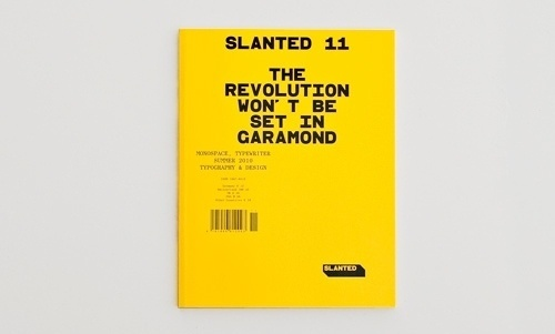 Slanted - Typo Weblog & Magazin - Das Gefühl Typografie - Alles über Schriften, Fontlabels & Design #titel #slanted #design #graphic #magma #cover #magazine #typography