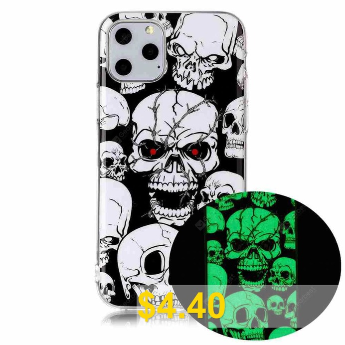 Luminous #Painted #TPU #Phone #Case #for #iPhone #11 #- #MULTI-L