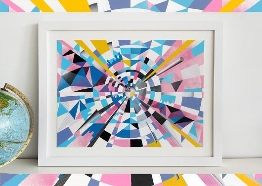 Microsoft Kin – Justin Blyth #justin #illustration #shapes #blyth