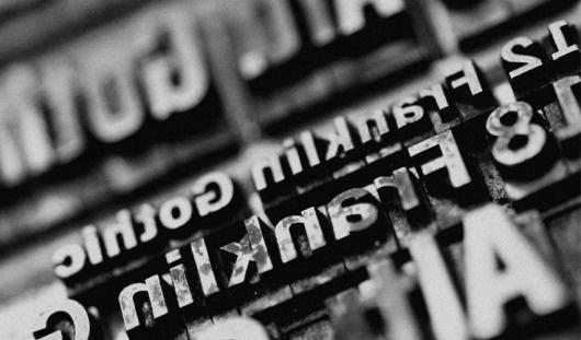 MEW / PHOTOGRAPHY #designerwithacamera #letterpress #photography #type #macro #lead #typography