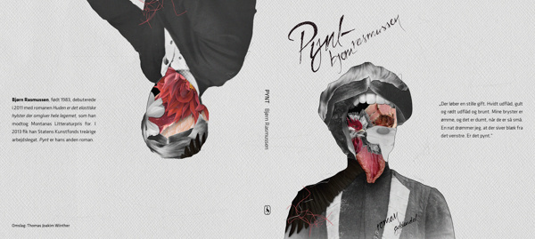 Pynt on Behance #food #vagina #meat #portrait #face #collage