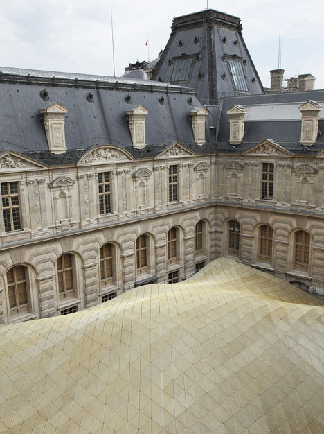 Department of Department of Islamic Arts at Louvre by Mario Bellini and Rudy Ricciotti #reuse #architecture #adaptive