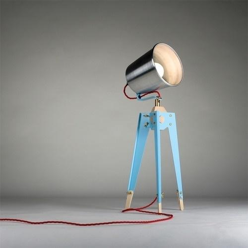 Frank Table Lampby Oliver Hrubiak via... - They #lamp #oliver #frank #table #hrubiak