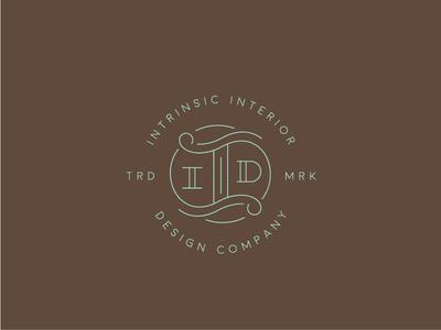 #lettering #logo #mark #branding #design #monogram #d #interior #intrinsic