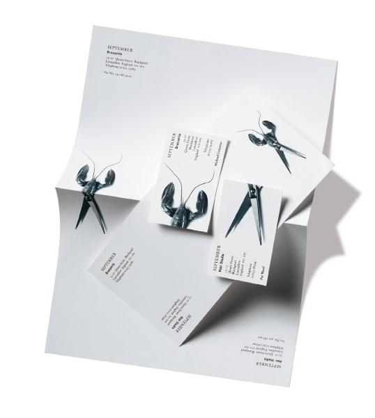 lovely stationery september #letterhead #identity #branding #stationery