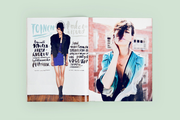 Magazine Layout Inspiration 4 #layout #magazine