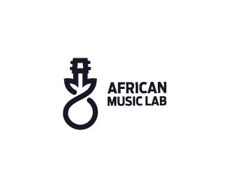 African music lab #music #logo #branding