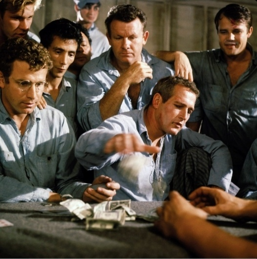 YEAH, WELL — SOMETIMES NOTHIN' CAN BE A REAL COOL HAND « The Selvedge Yard #steve #luke #mcqueen #hand #cool