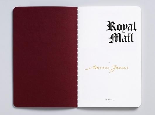 Magpie Studio #stamps #book #typography