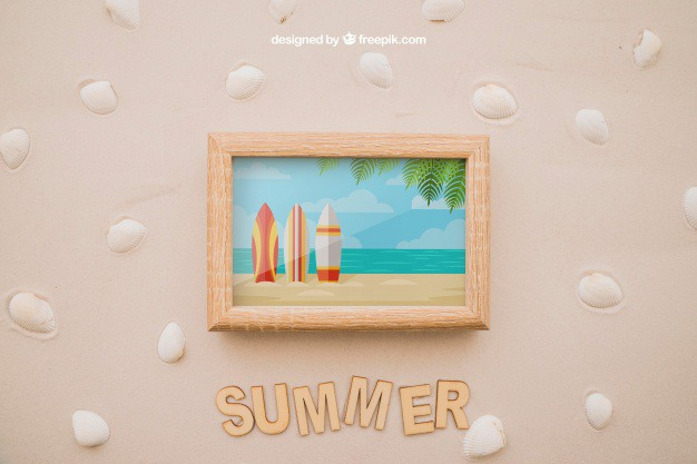 Photo frame in sand Free Psd. See more inspiration related to Frame, Mockup, Summer, Beach, Sea, Sun, Photo frame, Photo, Holiday, Mock up, Decorative, Vacation, Sand, Summer beach, Marine, Up, Season, Shells, Composition, Mock, Summertime and Seasonal on Freepik.
