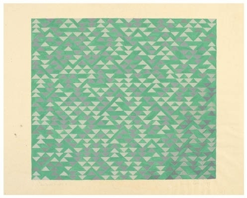 The Josef & Anni Albers Foundation #anni #1969 #geometric #ii #on #paper #for #albers #study #blueprint #triadic #gouache