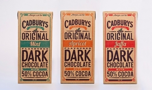 Student Spotlight: Cadbury's Chocolate - The Dieline: The World's #1 Package Design Website -