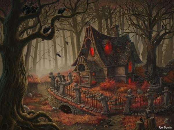 witch house by totalnol #totalnol #witch #house