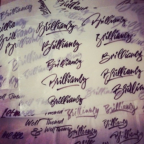 Beautiful something... #calligraphy #lettering #sketching #logo #typography