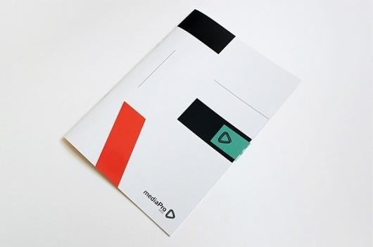 mediaPro on the Behance Network #print #design #book
