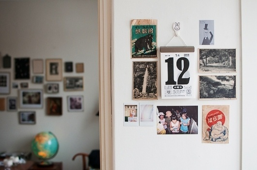 HILDA GRAHNAT #kitchen #calendar #wall