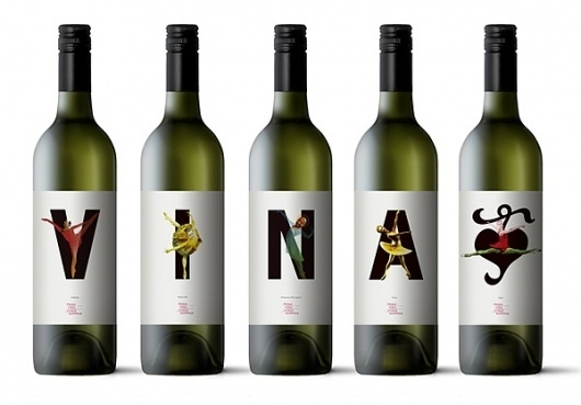 Packaging | Prima Vina « Layman's layout #print #label #wine