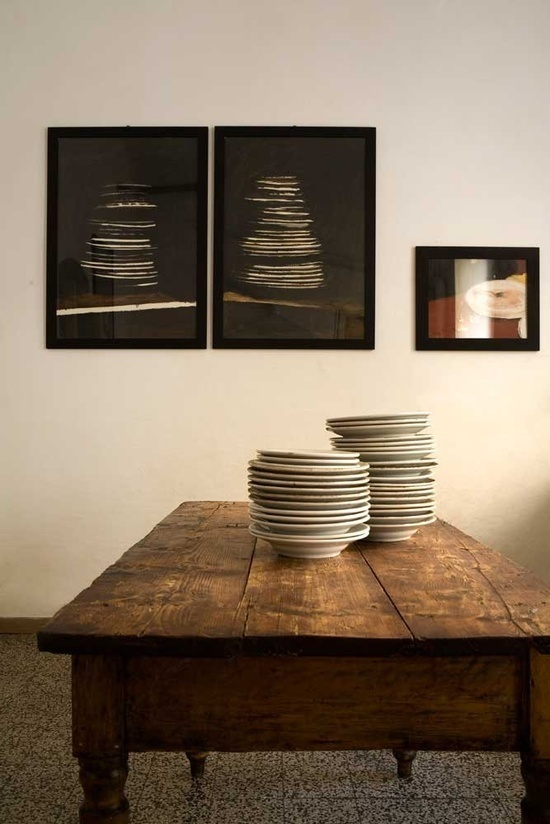 Spicer + Bank: by Allison Egan: Rustic Elegance #interior #table