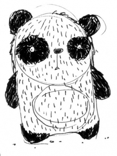das panda #panda #drawing