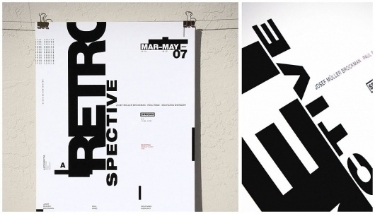 retrospective_01.jpg (960×550) #type #black #white #poster