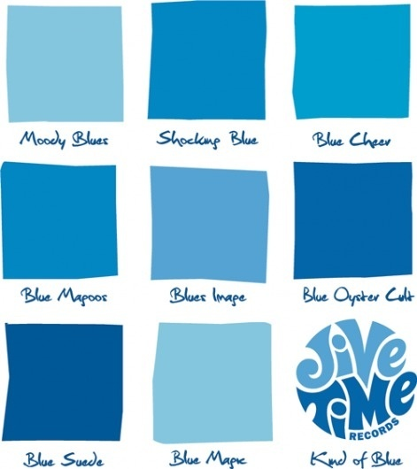 Jive Time Turntable #blue