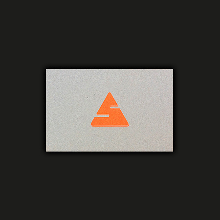 Ross Gunter — Work Journal #fluo #easy #business #print #five #pieces #logo #cards