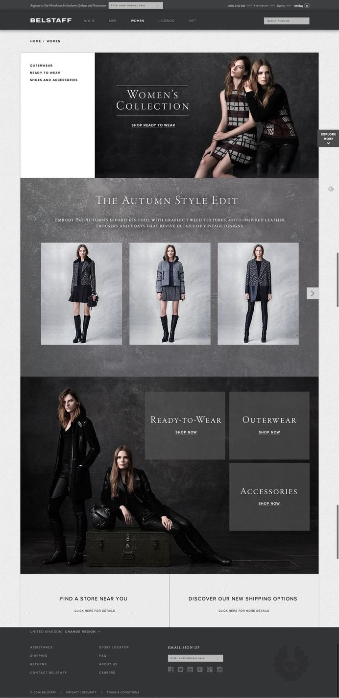 Belstaff Women Website #fashion #website #belstaff