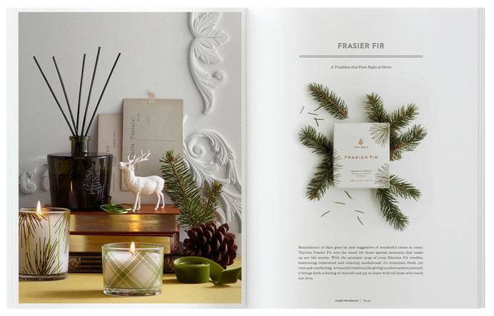 17.dieline_thymes_catalog.jpg #catalog #print #design #layout #editorial