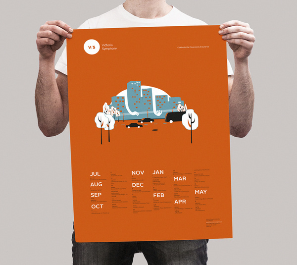 vicsymphony_poster #bright #print #poster