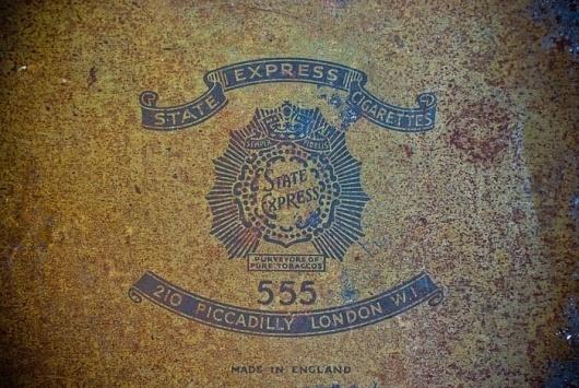 Vintage Packaging: State Express Cigarettes- TheDieline.com - Package Design Blog #design #graphic #crest #vintage #logo