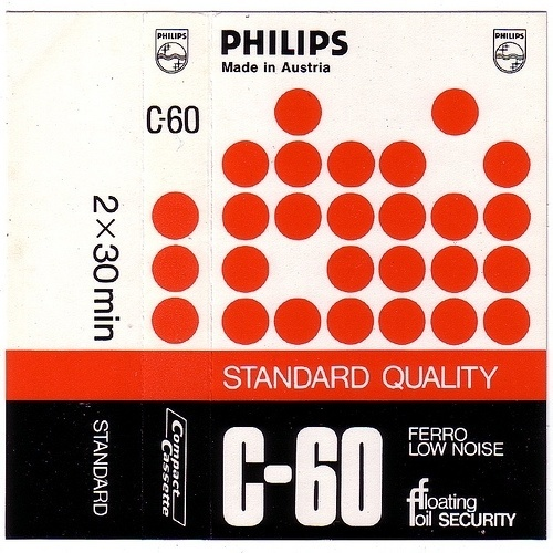 » Philips Flickrgraphics #tape #cassette #design #graphic #cover
