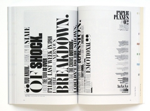 Magazine and Editorial Graphic Design Inspiration - MagSpreads #design #toko #spread #magspreads #editorial #magazine #typography