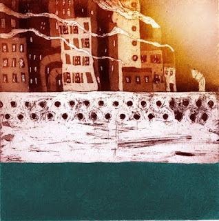 lundi 11 avril 2011 #lithography #sea