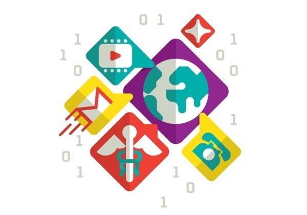 Editorial Illustration on Behance #icons