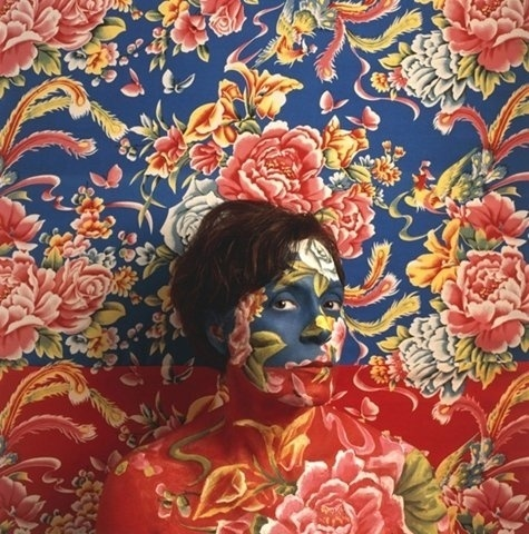 FFFFOUND! | I need a guide: cecilia paredes #florals #cecilia #painting #paredes #illusions