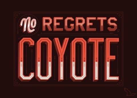 FFFFOUND! | Coyote — Friends of Type #text #red #awesome #typography