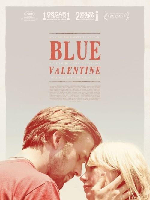 Blue Valentine #film #movie #sheet #poster #one