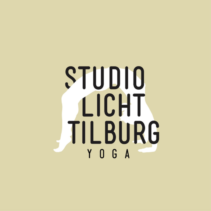 Logo Yoga Studio Licht Tilburg #yoga #logodesign #logo #graphicdesign #illustration #typography