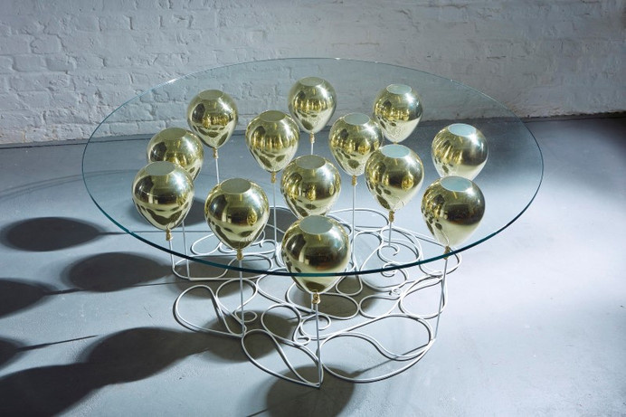 Up Balloon Coffee Table Round by Christopher London - HomeWorldDesign (2) (Custom) #coffee #design #table