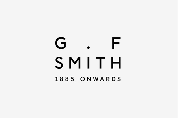 Logotype designed by Made Thought for British paper manufacturer G . F Smith #logo #branding