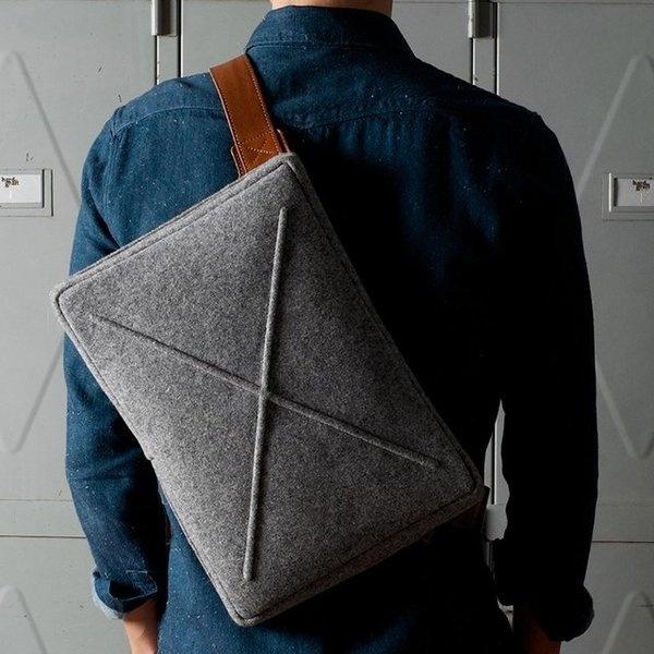 Wool Flat Pack From Hard Graft #gadget