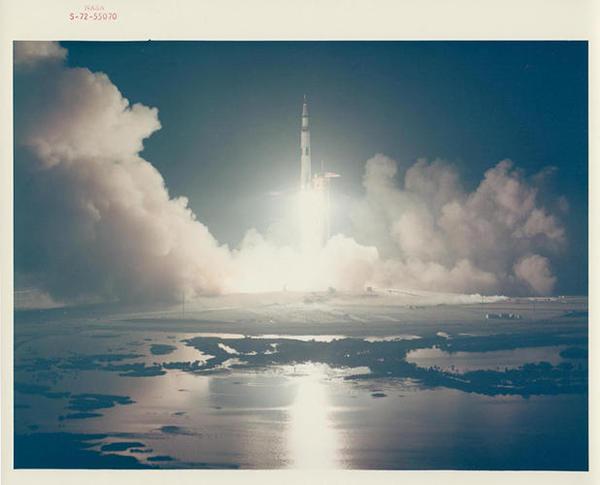 NASA's Golden Age—Apollo 17 Launch 1972 #nasa #saturn #space #v