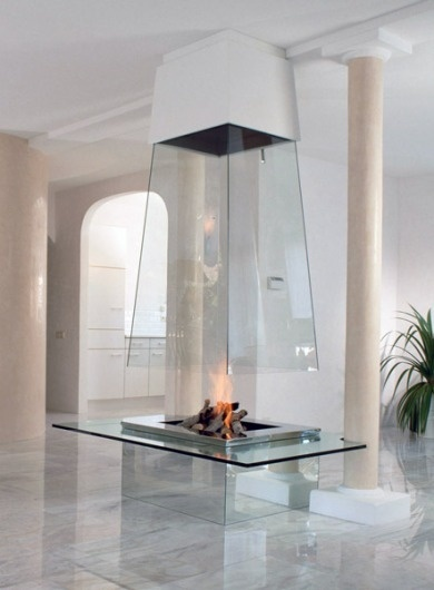 All Things Stylish #interior #fireplace #home #modern