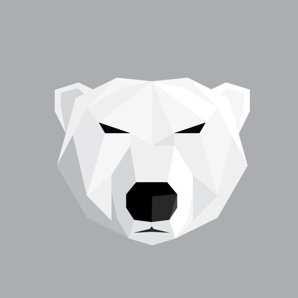 Dub Kartell Noah Mooney Design #techno #logo #bear #geometric