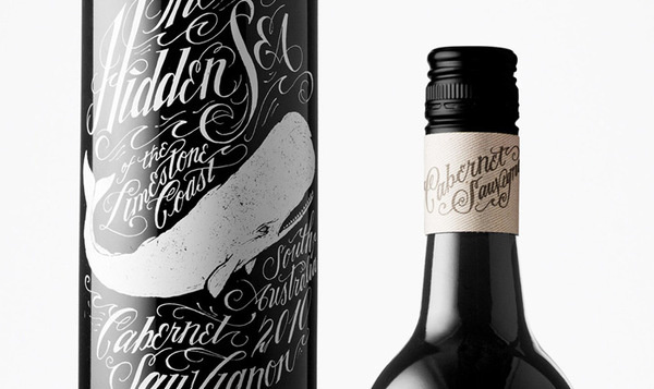 Jon Contino: The Hidden Sea / on Design Work Life #script #jon #contino #label #wine
