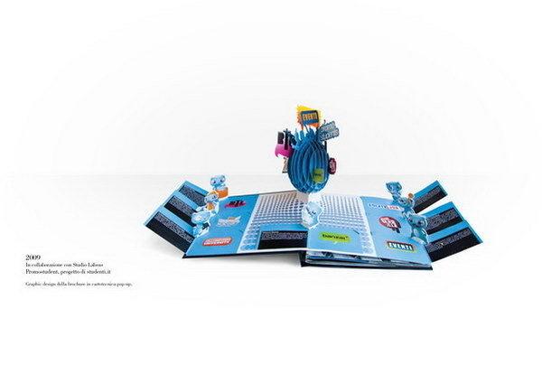 Promostudent #pop #up #popup #3d #brochure
