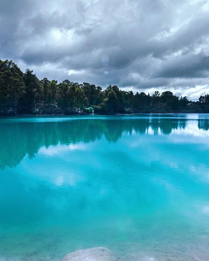 Balck diamond lake on a cloudy day. by @shutupandtakephotos