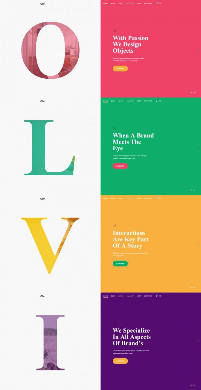 Olvi – splitscreen